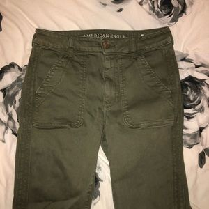 AE Green High Rise Jegging